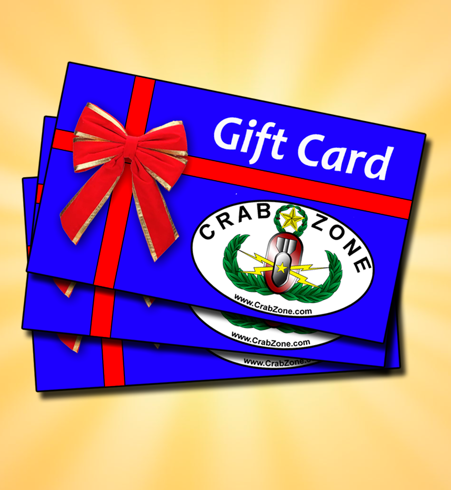 Crab Zone Virtual Gift Card