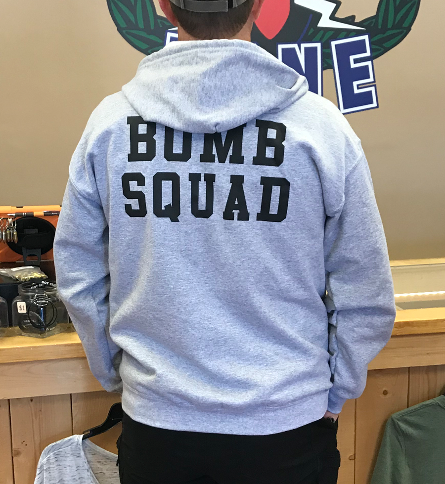 Bomb Squad Hoodie (pullover)