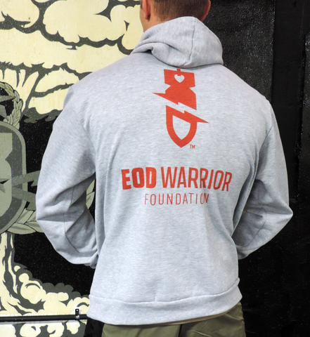 Unisex EODWF Heather Gray Hoodie