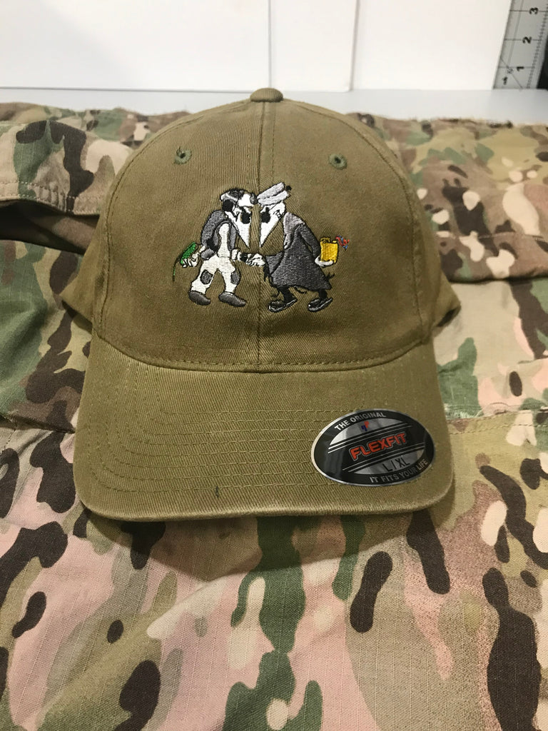 Green(loden) Flex Fit Hat