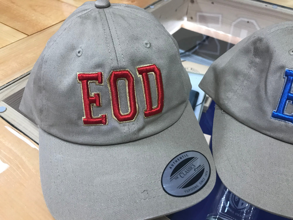"EOD ""Puffy"" Embroidered Hats"