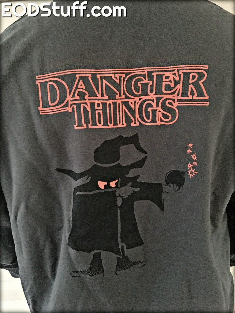 Danger Things EOD Mad Bomber Zip Up Hoodie