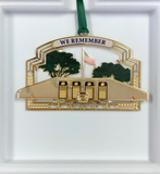 EOD Memorial Wall Gold Ornament