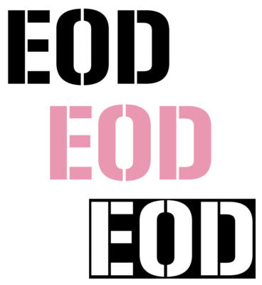 EOD Decal