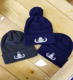 Crab Badge Beanie