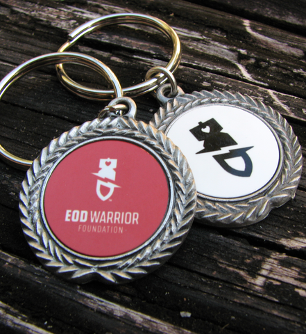 EODWF Pewter Keychain