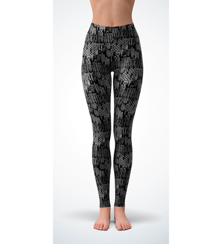 Bomb Flag Leggings