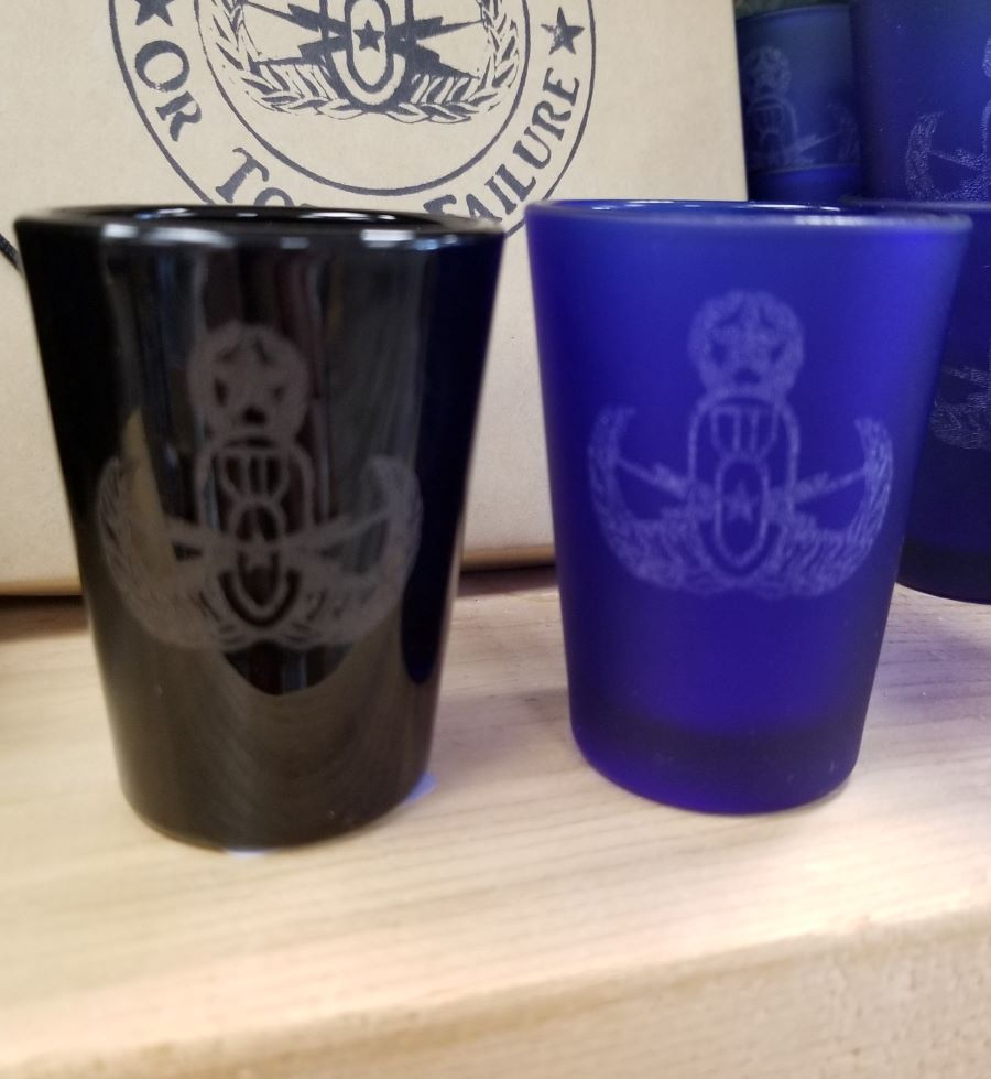 EOD Master Badge Shotglass