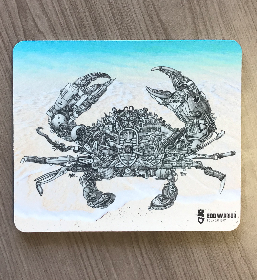 Mousepad, Don Stewart Crab