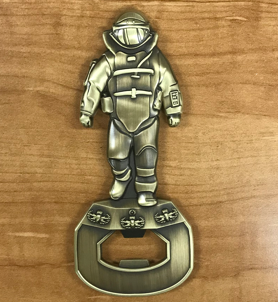 Magnetic Bomb Suit Bottle Opener