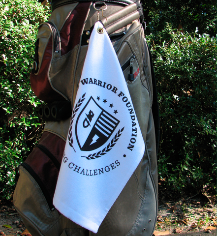 Disarming Challenges Golf Towel