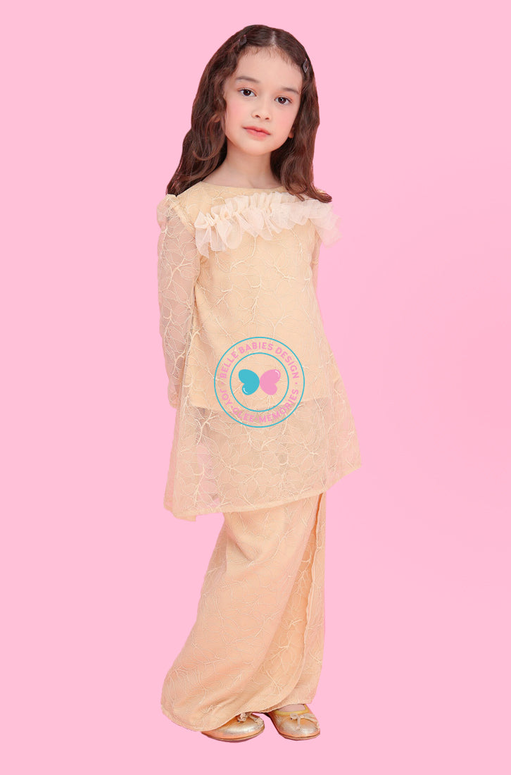 BBD Kurung Pahang (Full Lace) - Nude Brown