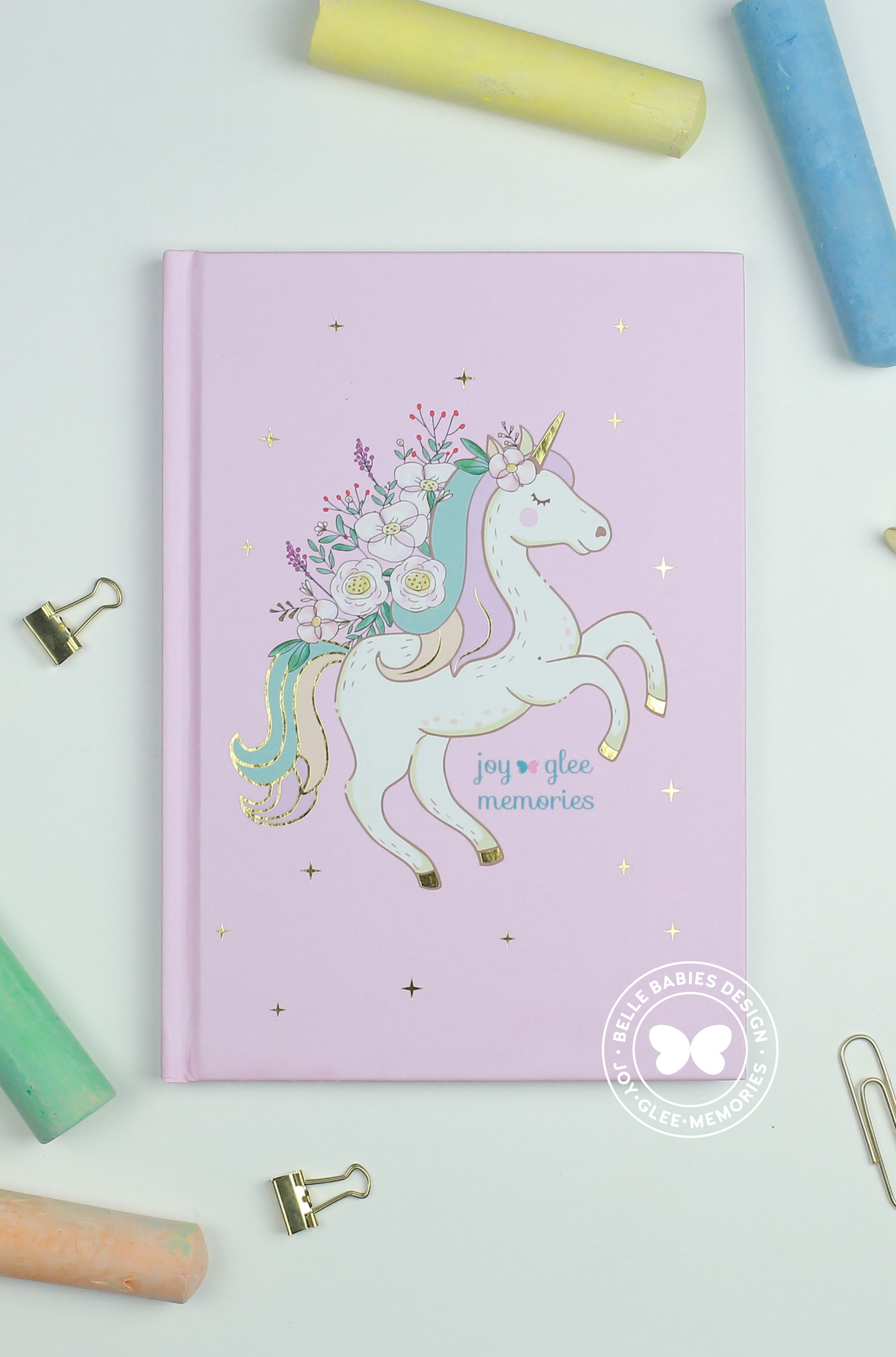[Ready stock] BBD Unicorn Notebook (Candy Pink)