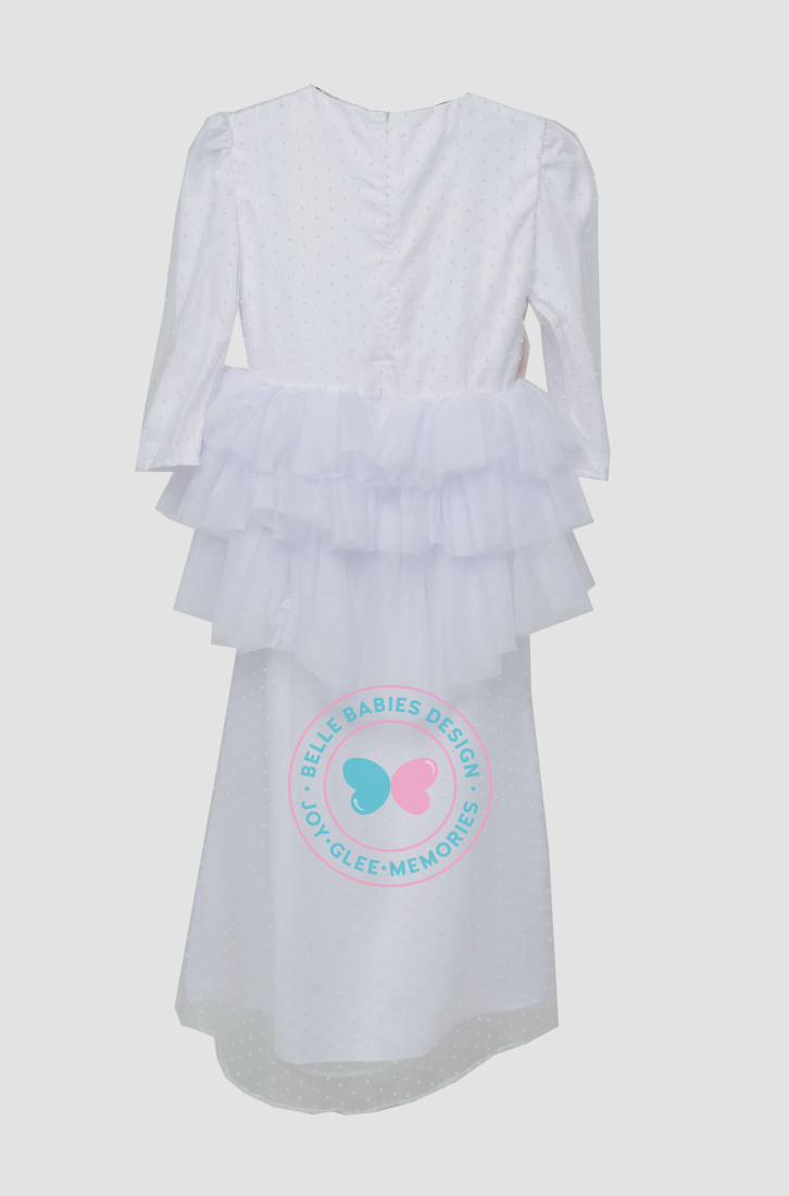 BBD Teens Tutu Dot - White