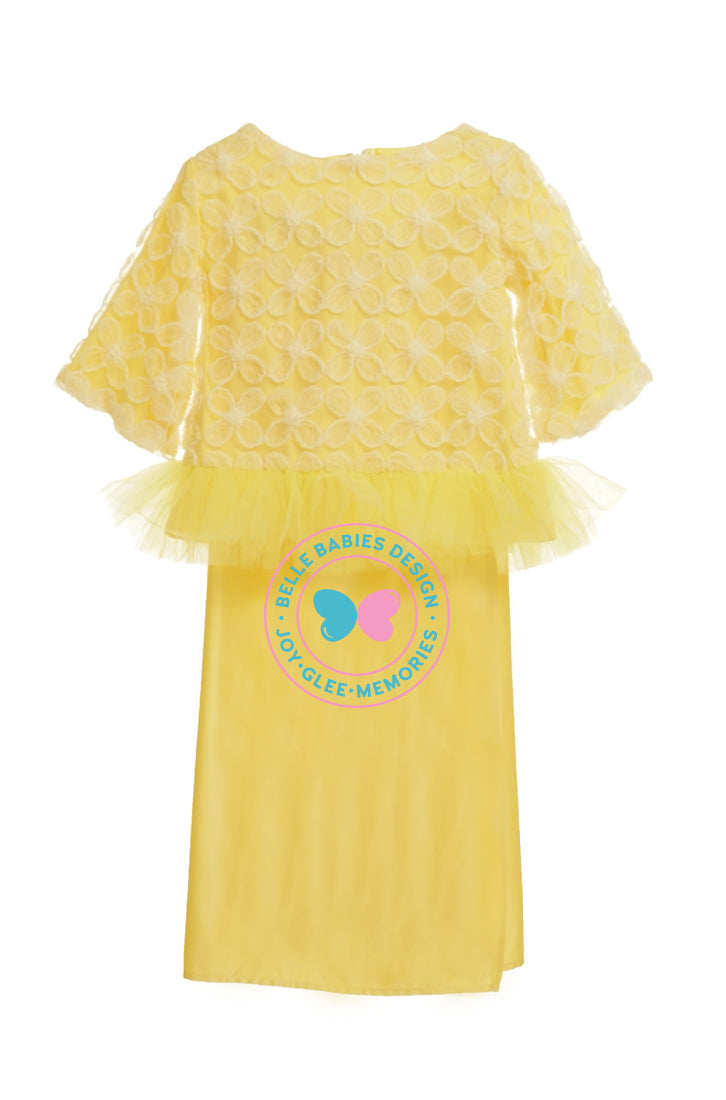 BBD Flower Lace Tutu - Yellow