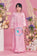 BBD Tiered Doll Dot Kurung - Pink