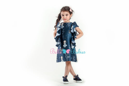 BBD Ruffled PlayDress (Midnight Blue)