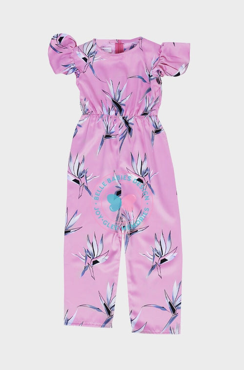 BBD Casual : Playsuit (Pink-Purple)