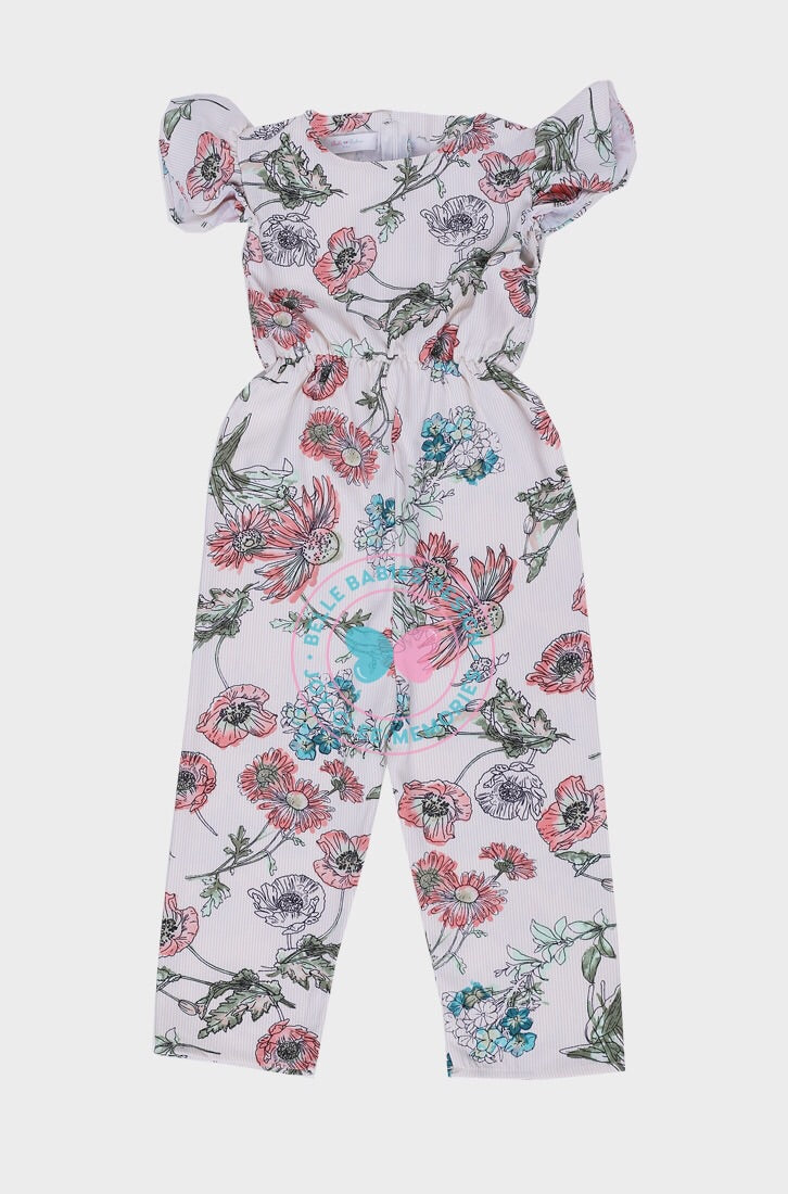 BBD Casual : Playsuit (Pastel Floral)