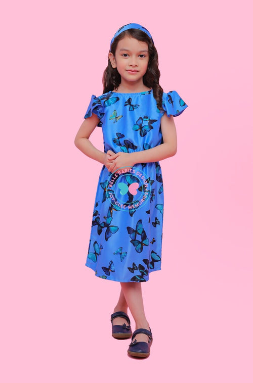 BBD Casual : Playdress (Blue Butterfly)