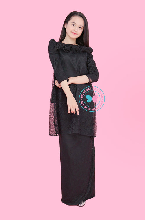 BBD Teens Pahang Lace - Black