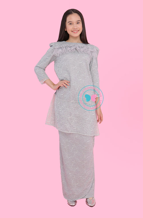BBD Teens Pahang Lace - Grey