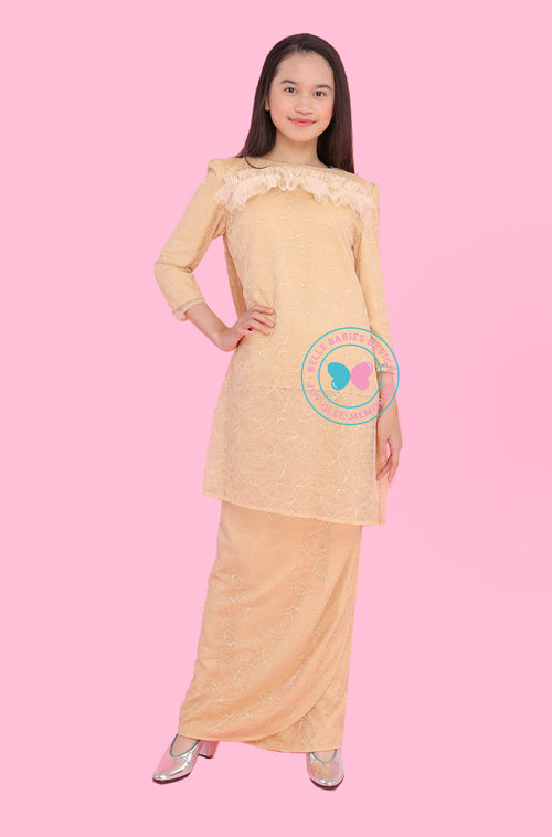 BBD Teens Pahang Lace - Nude