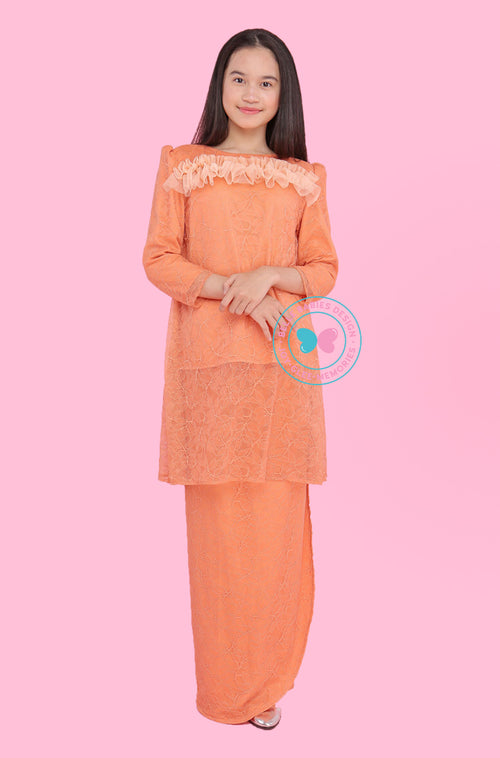 BBD Teens Pahang Lace - Orange Brick