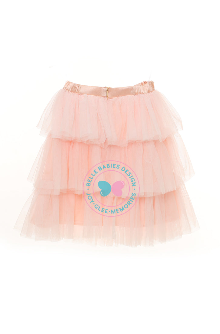 BBD (Puffy) Tutu Skirt - Peach