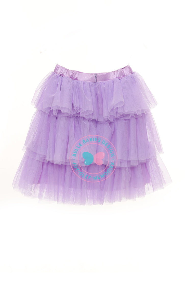 BBD (Puffy) Tutu Skirt - Purple