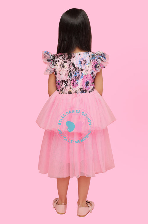 (NEW) BBD 2-Tiered Tutu - Pink