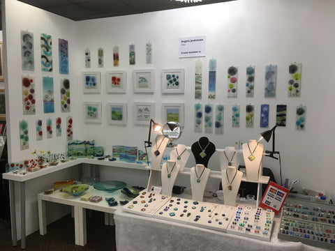 Fired Creations stand at HAOS Art Fair 2016
