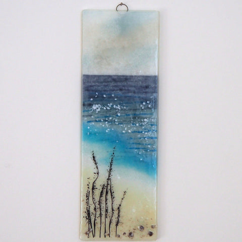 Fused Glass Wall Art - Fused Glass Art - Seascape
