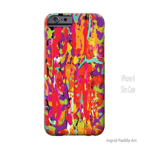 Abstraction iPhone Case - Art by Ingrid Padilla