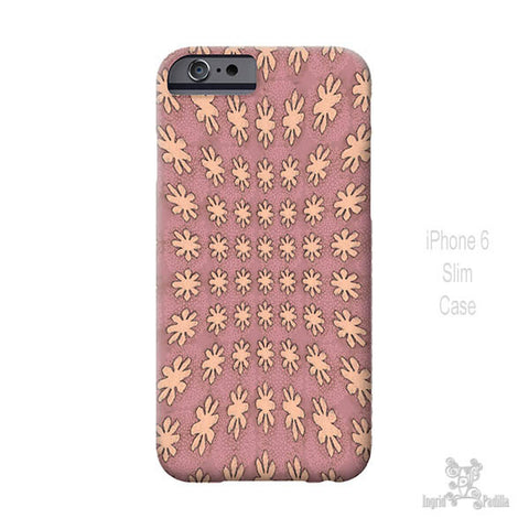 Blooming Pink - iPhone Case - Art by Ingrid Padilla