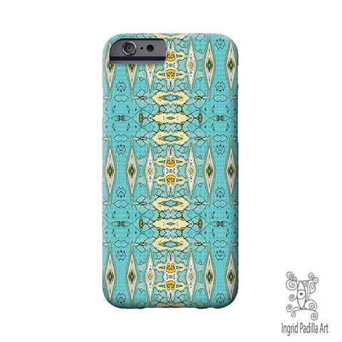 elle blu - iPhone 6 Case - Art by Ingrid Padilla