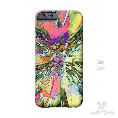 Fragments iPhone Case - Art by Ingrid Padilla