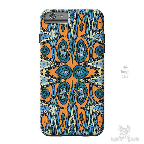 Remy Blue iPhone Case - Art by Ingrid Padilla