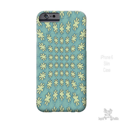 Blooming Blue - iPhone Case - Art by Ingrid Padilla