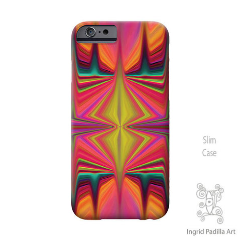 Peaks iPhone Case - Art by Ingrid Padilla