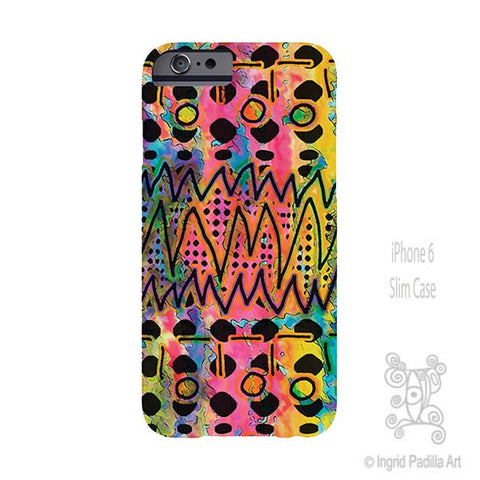 Vibe - iPhone Case - Art by Ingrid Padilla