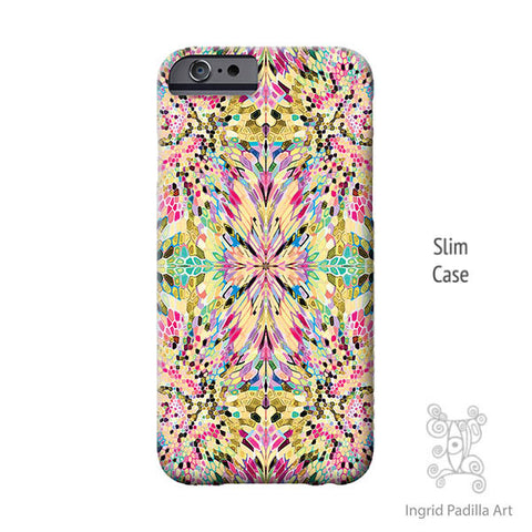 Wash Dot Two iPhone Case - Art by Ingrid Padilla