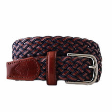 Navy 6pm woven torino leather mensbelt mrporter mensfashion mensstyle trafalgar menswear menstyle beltology dane belt belts country club prep andersons east usa