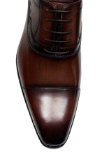 Cap Toe Oxford Hand Stitch