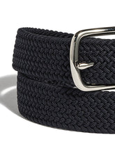 beltology back nine stretch leather elastic touch of modern mission belt navy braided dressbeltology back nine stretch leather elastic touch of modern mission belt navy braided dress