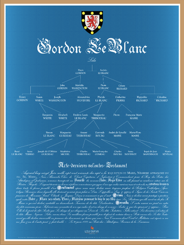 1 | Gordon-Le Blanc Family Tree