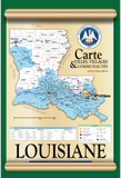 Modern Louisiana Political Map