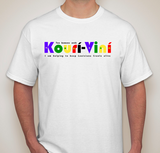 I am helping to save Kourí-Viní tshirt