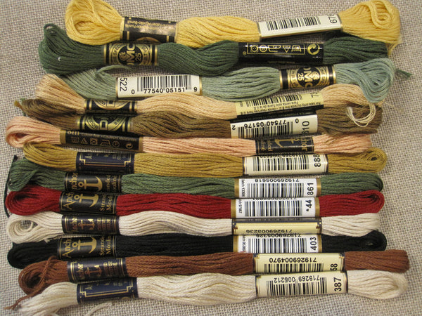 Cotton Floss Skeins - Sale
