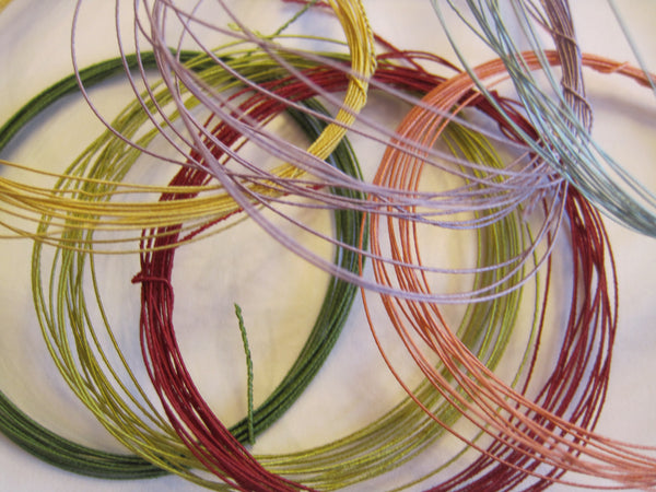 Silk Covered Wire